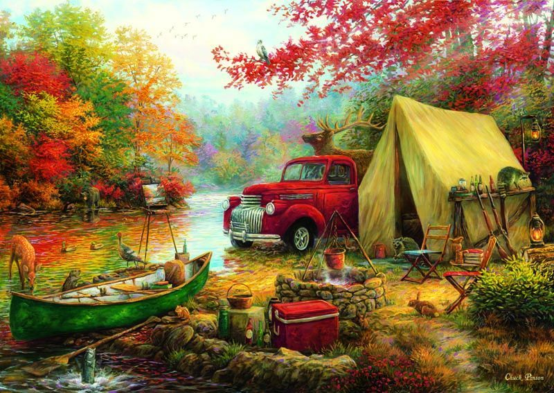 4540 Anatolian Puzzle Kamp Arkadaşları 1500 Parça Puzzle