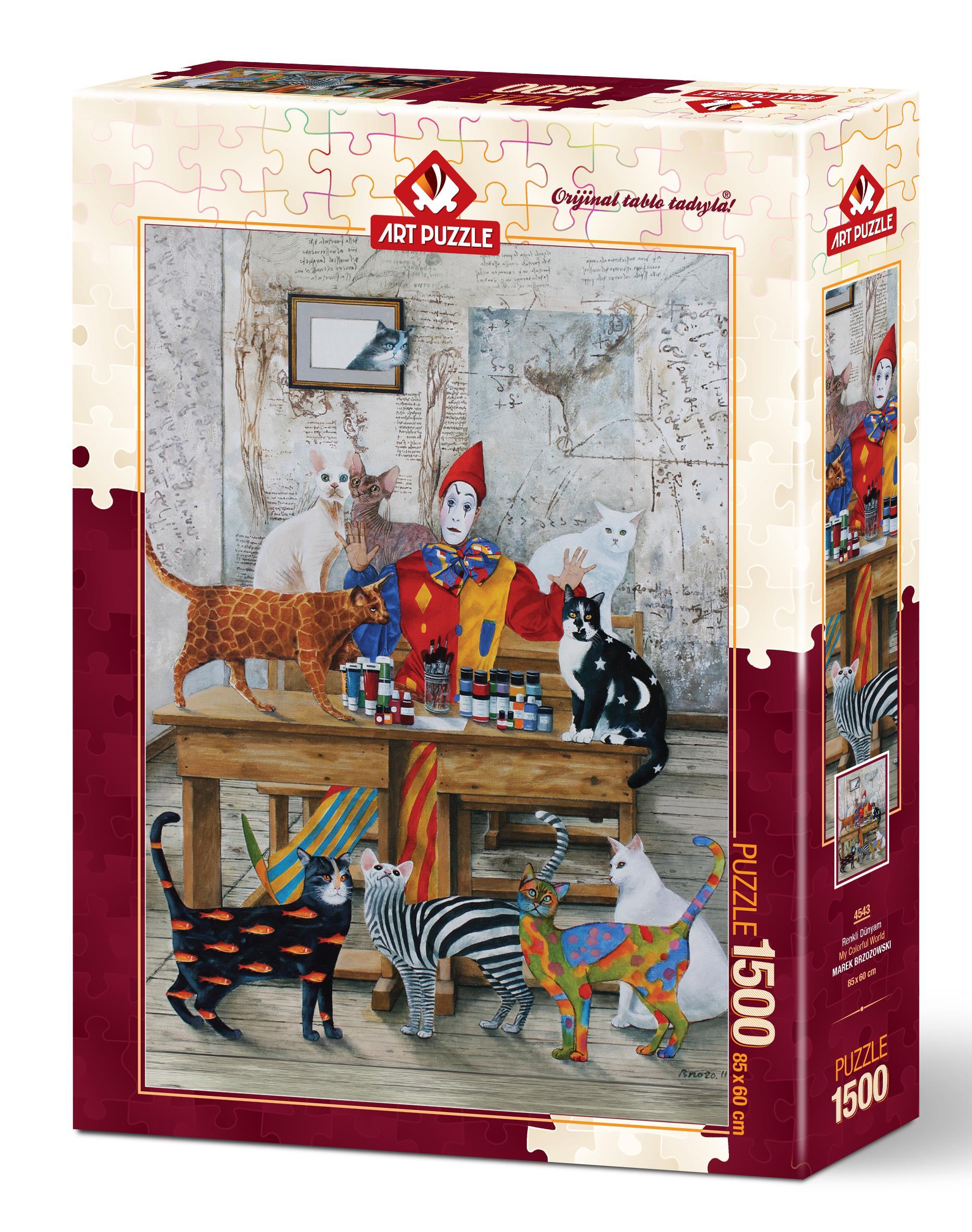 Art Puzzle 4543 Renkli Dünyam 1500 Parça Puzzle