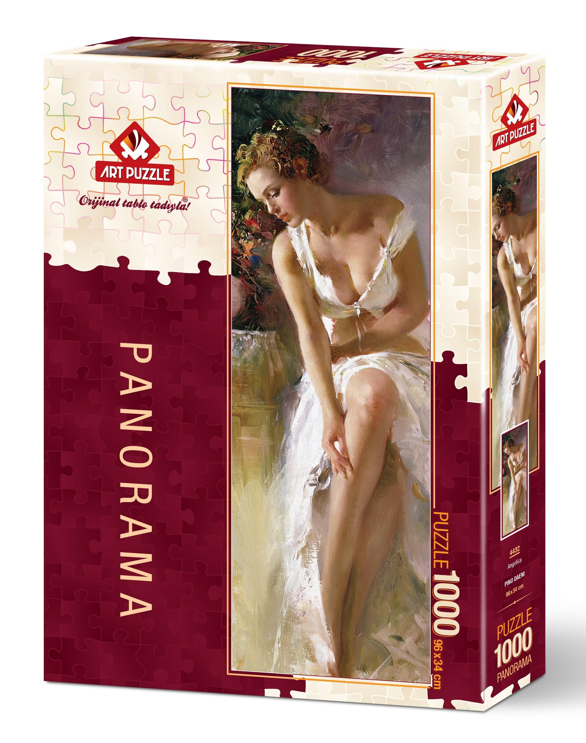 Art Puzzle 4432 Angelica 1000 Parça Panorama Puzzle