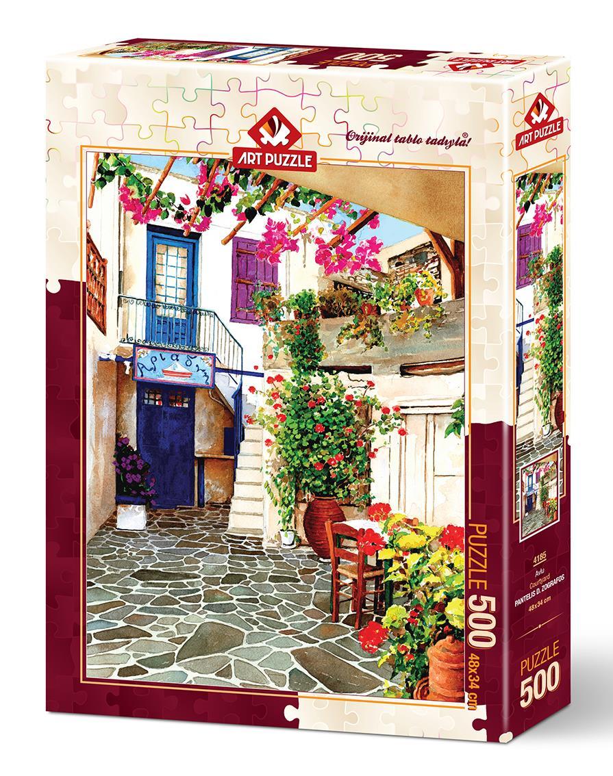 Art Puzzle 4185 Avlu 500 Parça Puzzle