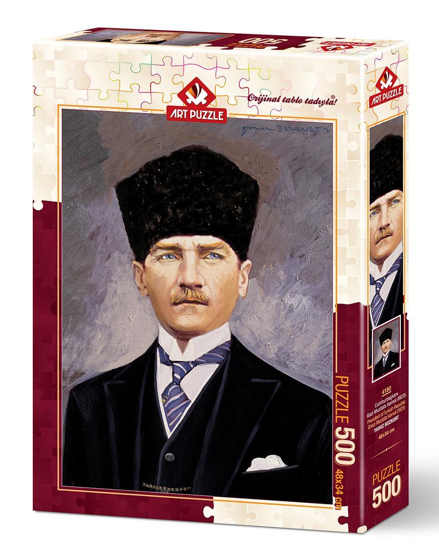 Art Puzzle 4180 Cumhurbaşkanı Gazi Mustafa Kemal Atatürk 500 Parça Puzzle