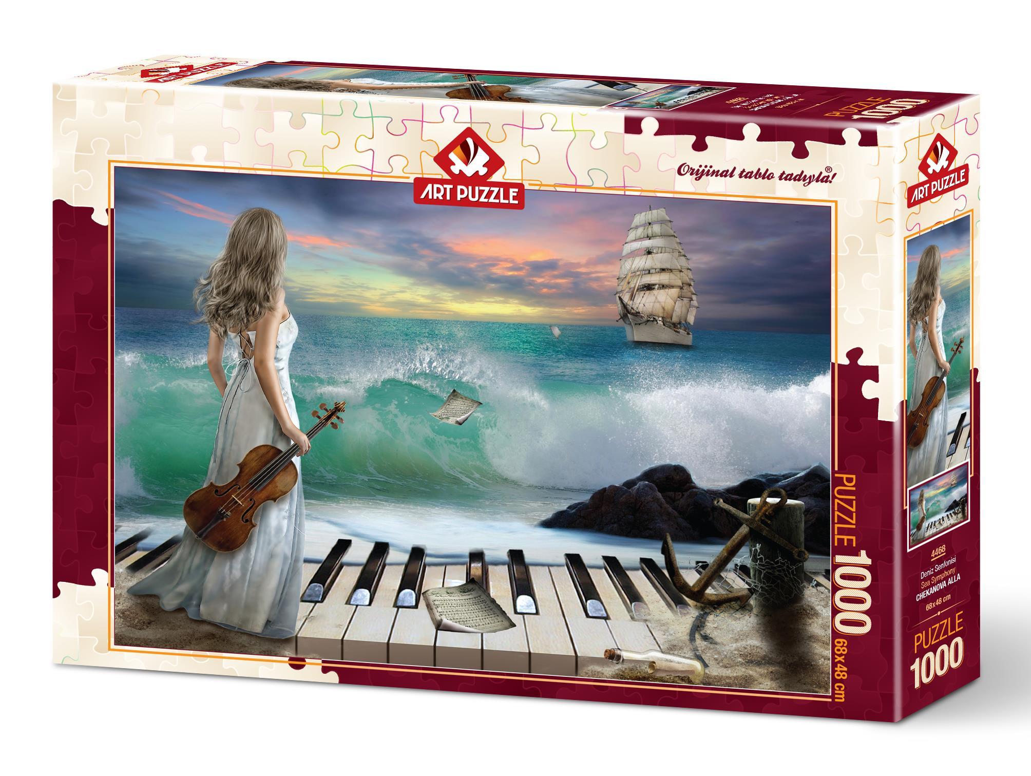 Art Puzzle 4468 Deniz Senfonisi 1000 Parça Puzzle