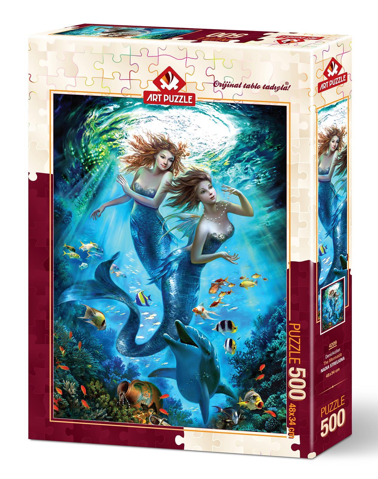 Art Puzzle 4209 Denizkızları 500 Parça Puzzle
