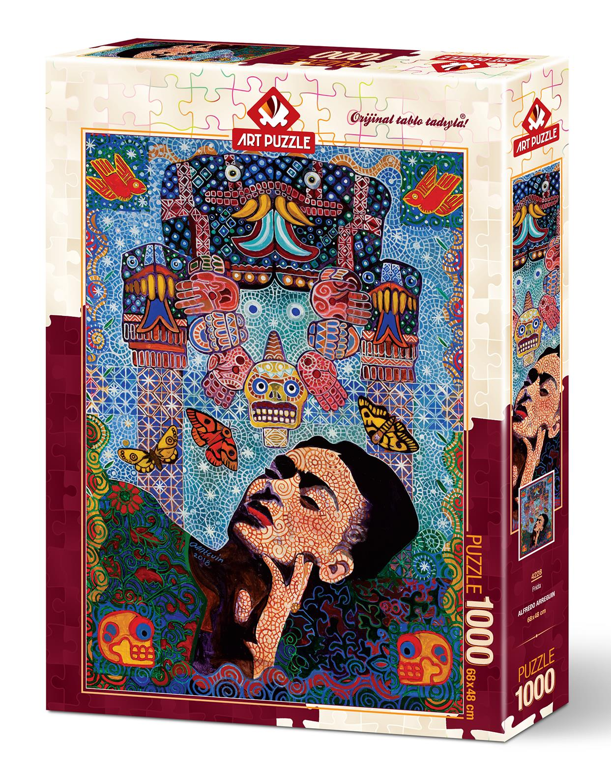 Art Puzzle 4228 Frida 1000 Parça Puzzle