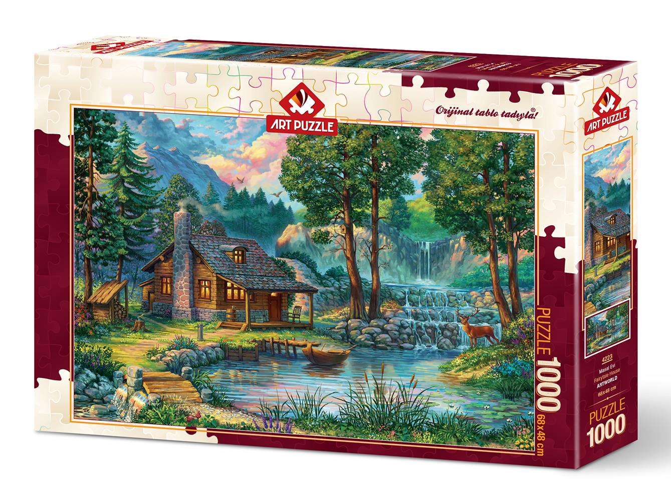 Art Puzzle 4223 Masal Evi 1000 Parça Puzzle