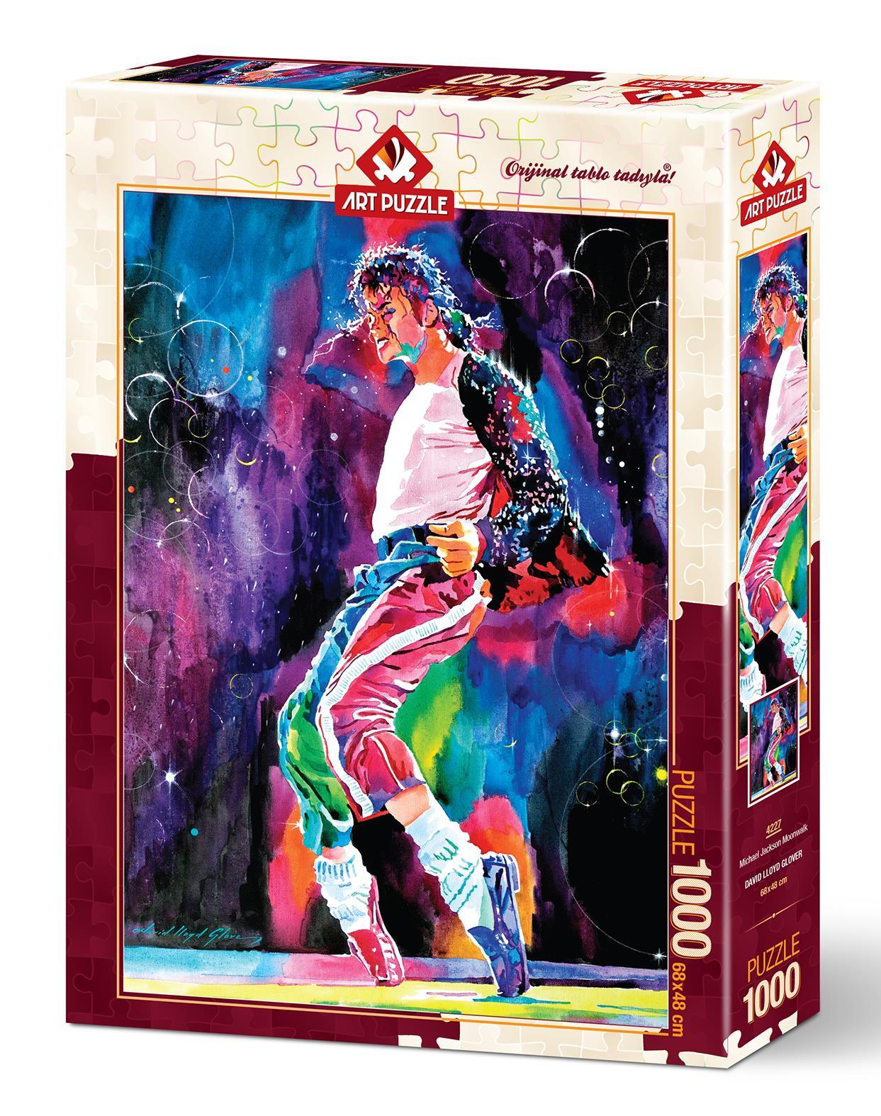 Art Puzzle 4227 Michael Jackson Moonwalk 1000 Parça Puzzle
