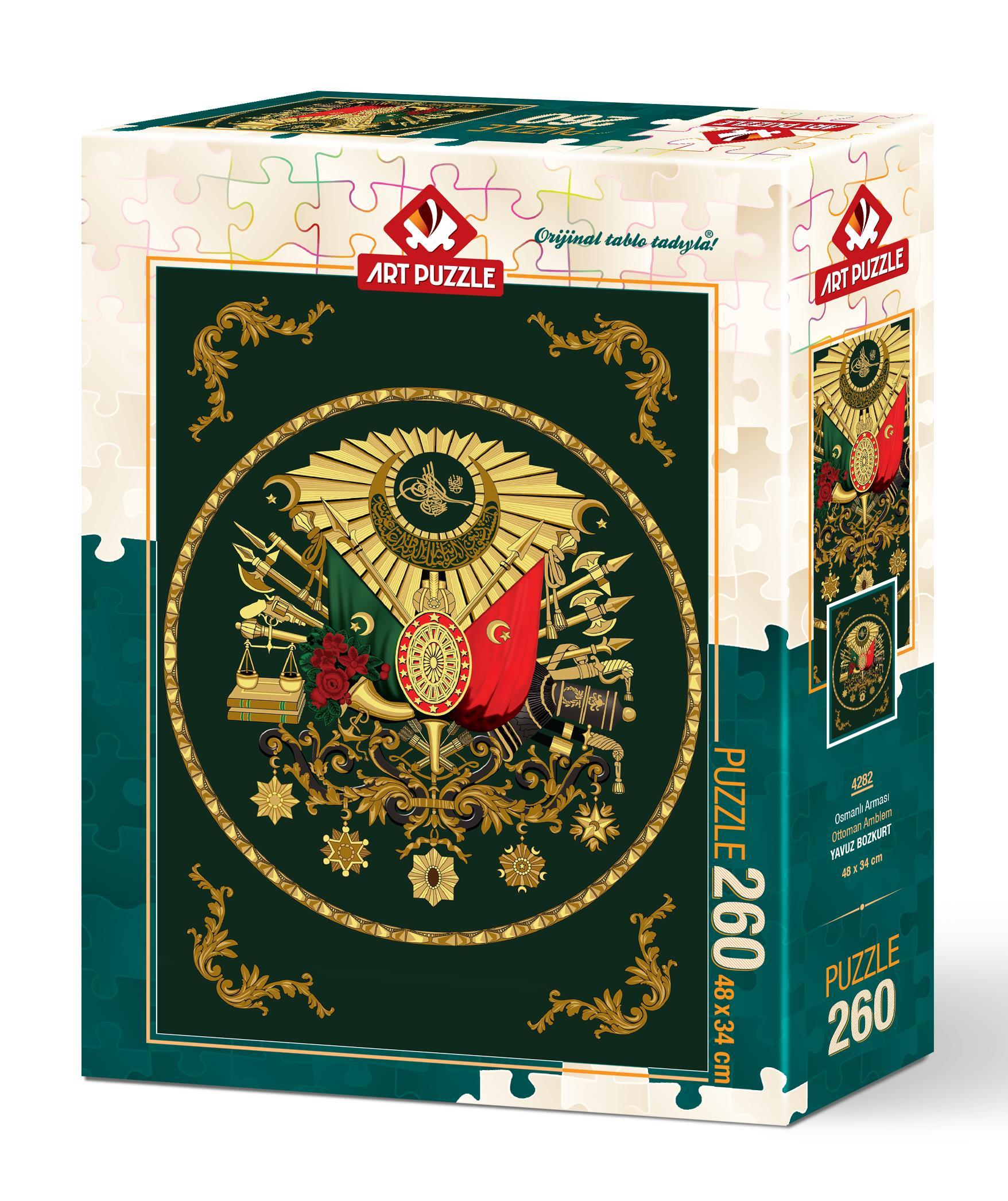 Art Puzzle 4282 Osmanlı Arması 260 Parça Puzzle