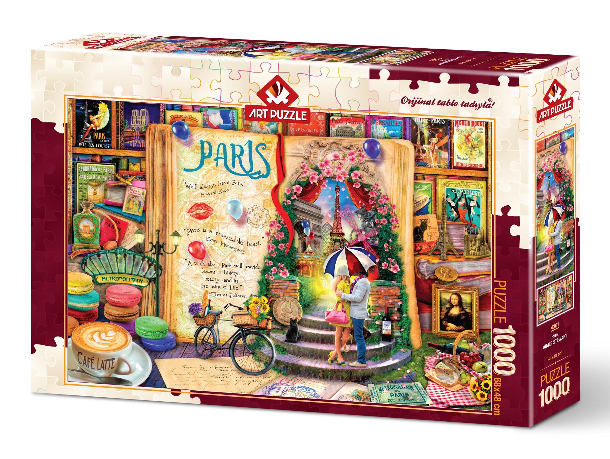 Art Puzzle 4361 Paris 1000 Parça Puzzle