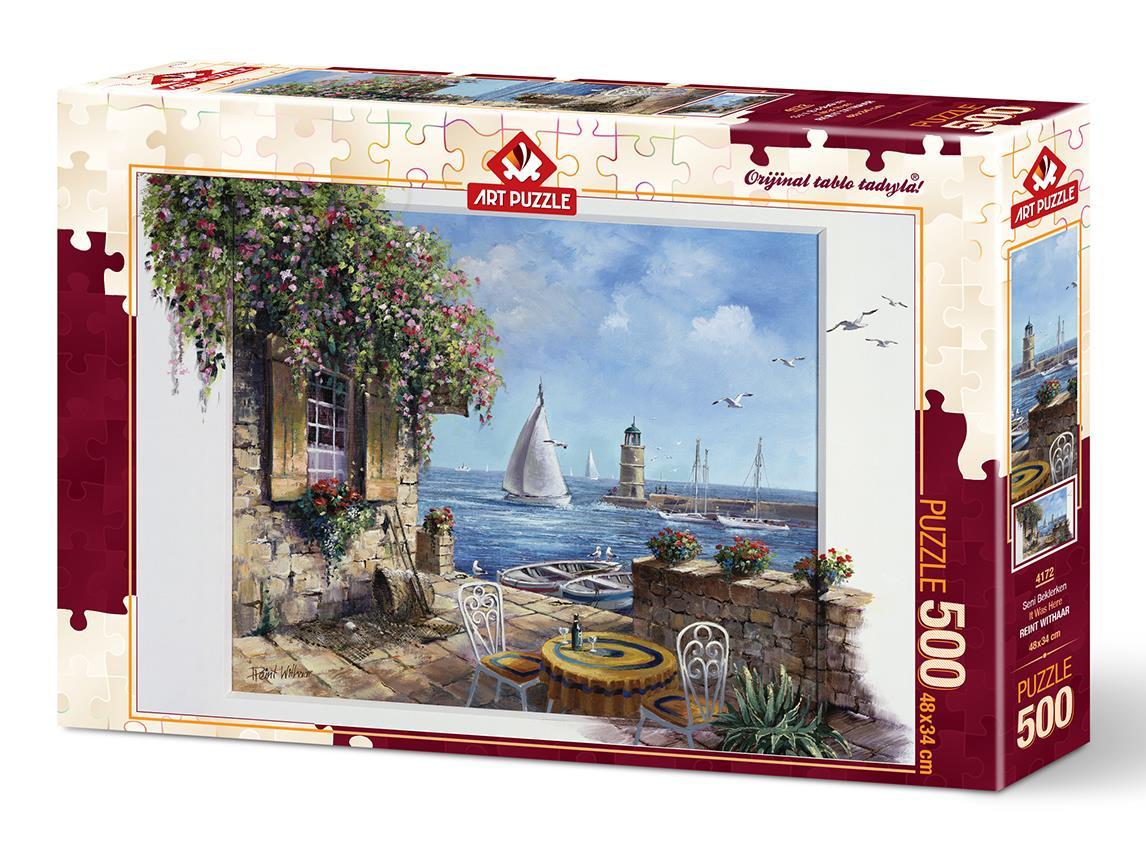 Art Puzzle 4172 Seni Beklerken 500 Parça Puzzle