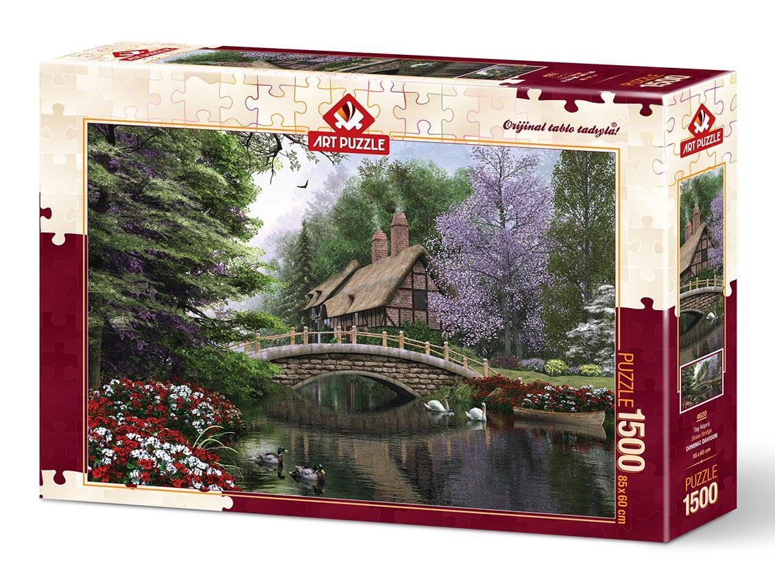 Art Puzzle 4620 Taş Köprü 1500 Parça Puzzle