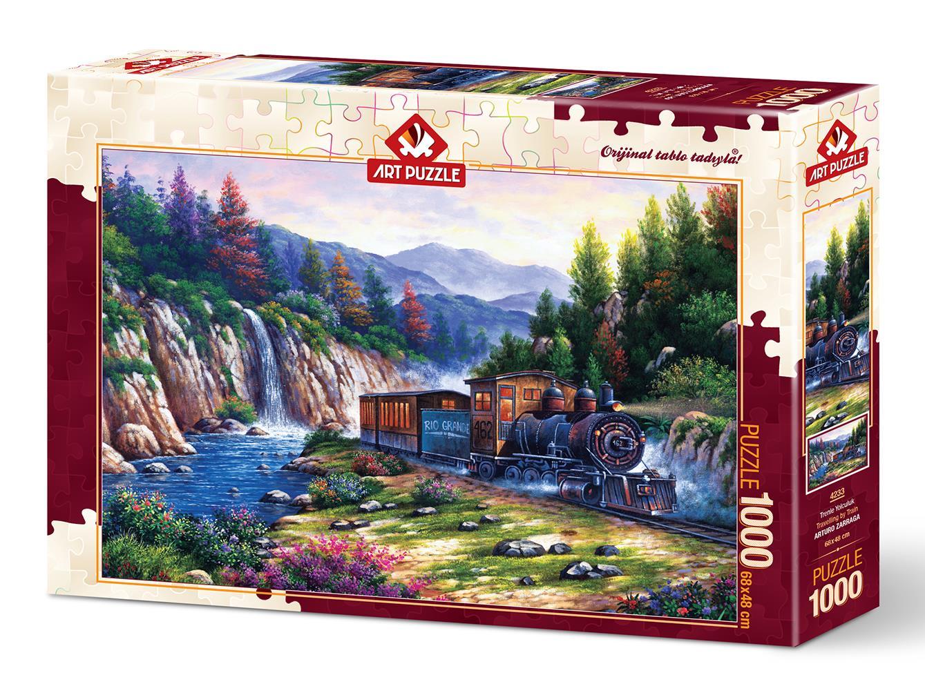 Art Puzzle 4233 Trenle Yolculuk 1000 Parça Puzzle