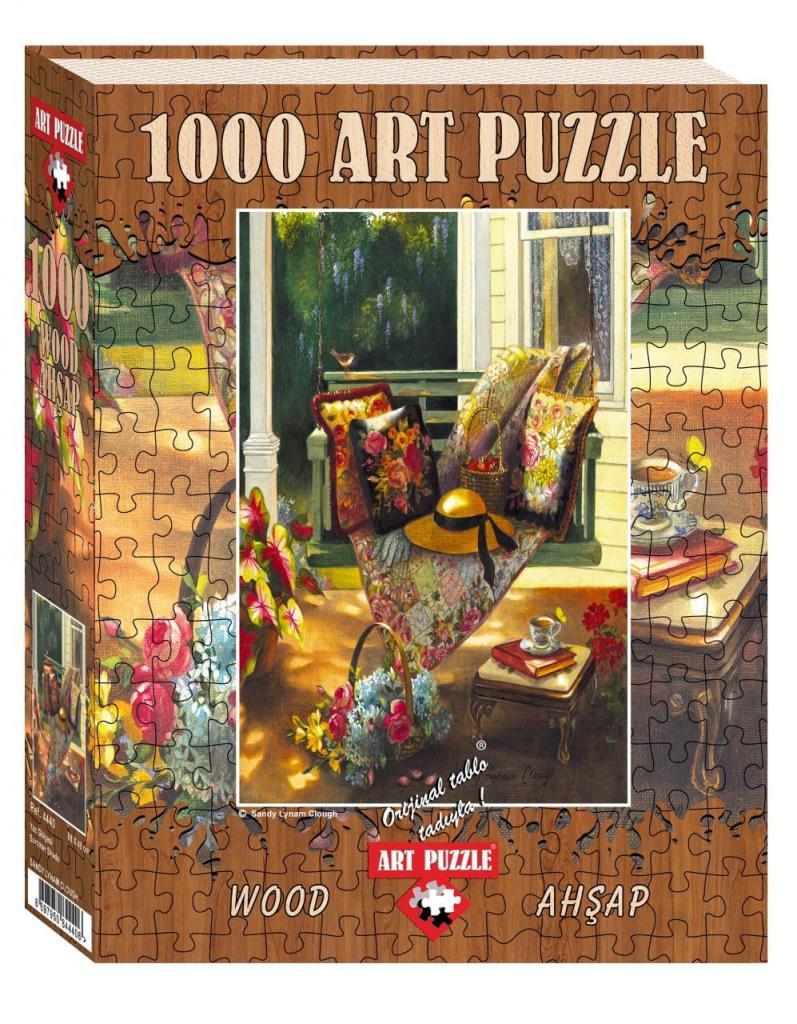 Art Puzzle 4440 Yaz Gölgesi 1000 Parça Ahsap Puzzle