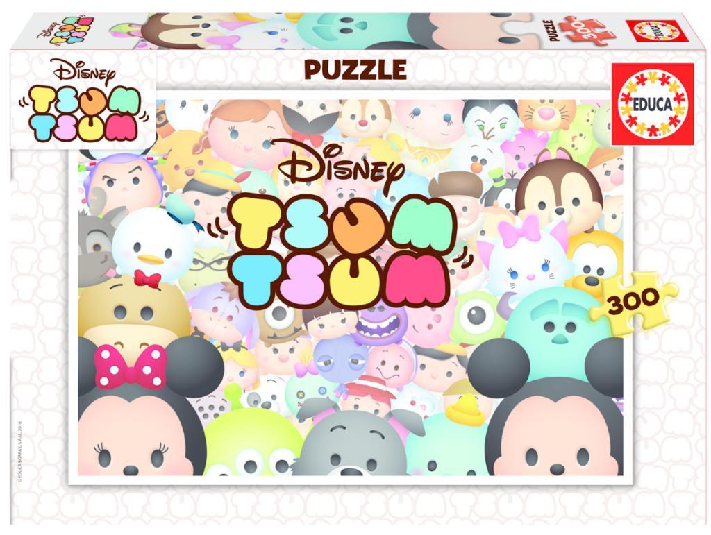 16863 Educa Puzzle Tsum Tsum 300 Parça Karton Puzzle