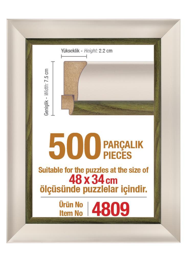 4809 500 Parça Art Puzzle Çerçevesi