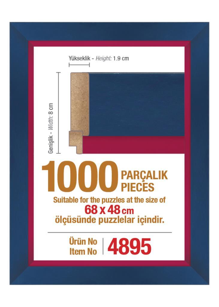 4895 1000 Parça Art Puzzle Çerçevesi