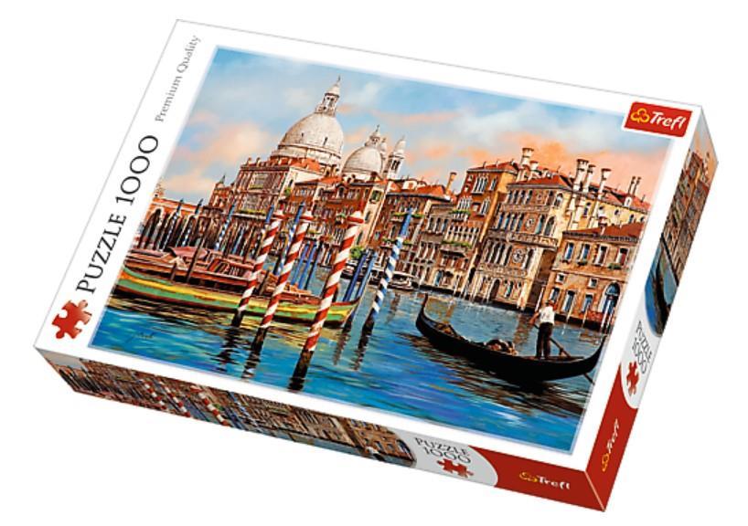 Trefl Puzzle 10460 Afternoon Venice 1000 Parça Puzzle