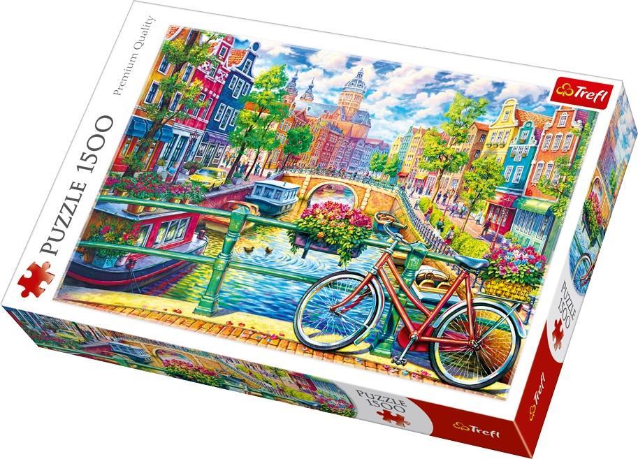 Trefl Puzzle 26147 Park Güell, Barcelona 1500 Parça Puzzle
