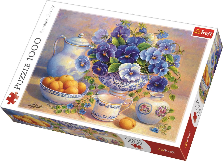 Trefl Puzzle 10466 Blue Bouquet, DDFA 1000 Parça Puzzle