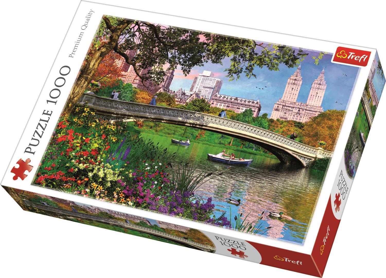 Trefl Puzzle 10467 Central Park, New York 1000 Parça Puzzle