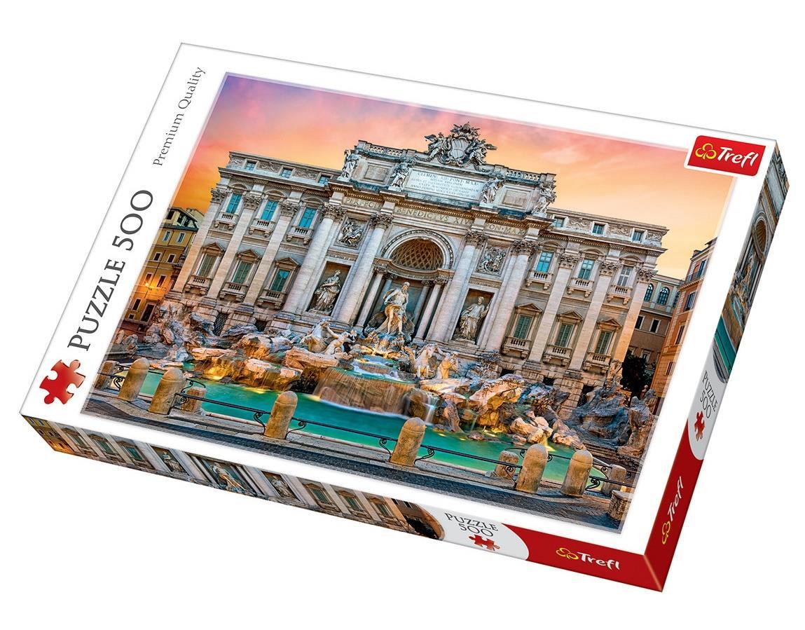 Trefl Puzzle 37292 Fontanna Di Trevi, Rome 500 Parça Puzzle