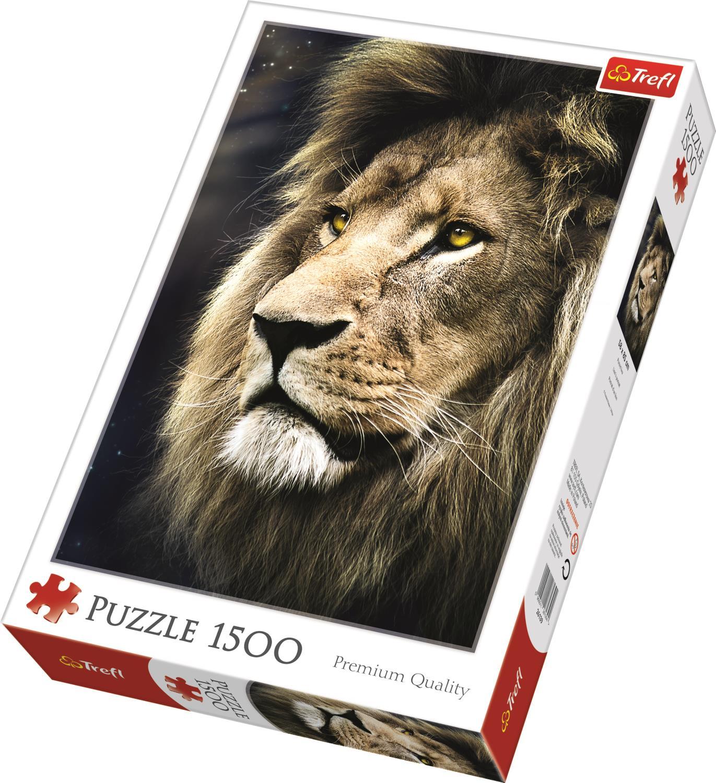 Trefl Puzzle 26139 Lions Portrait 1500 Parça Puzzle