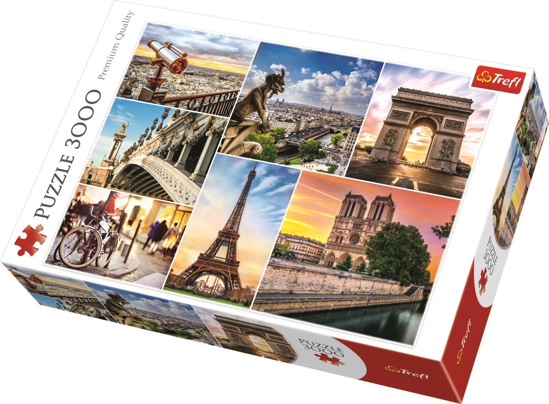 Trefl Puzzle 33065 Magic Of Paris, Collage 3000 Parça Puzzle