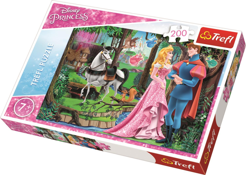 Trefl Çocuk Puzzle 13223 Princess Meeting In The Forest, Disney 200 Parça Puzzle