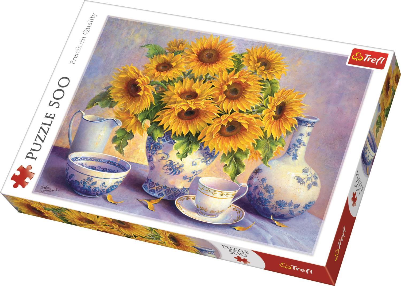 Trefl Puzzle 37293 Sunflowers, DDFA 500 Parça Puzzle