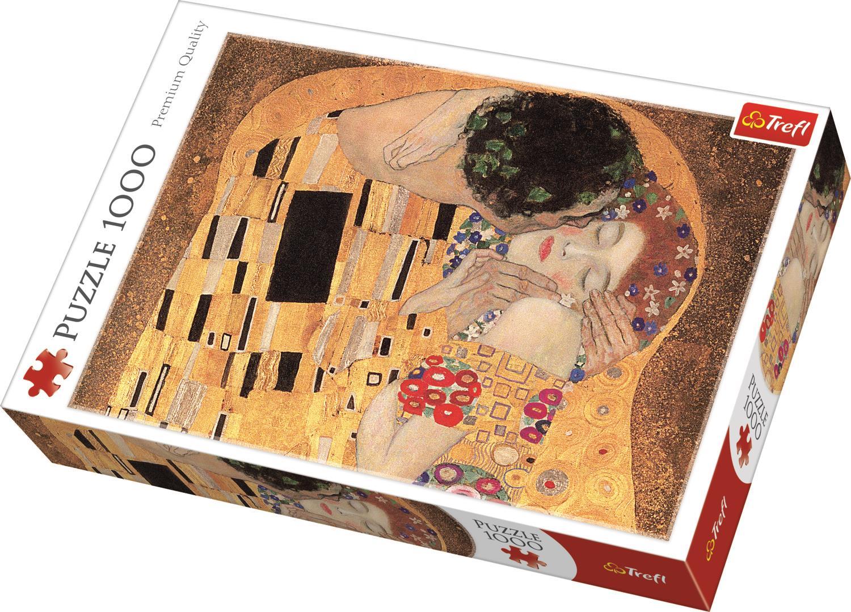 Trefl Puzzle 10464 The Kiss, Bridgeman 1000 Parça Puzzle