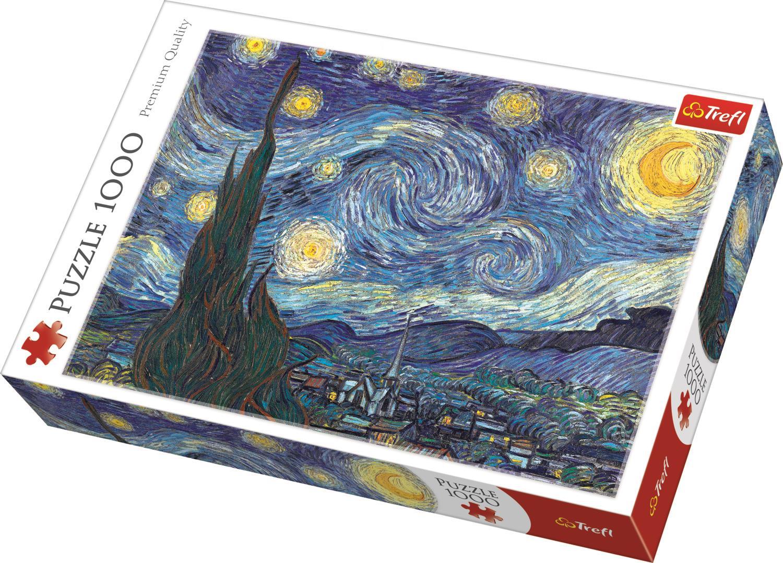 Trefl Puzzle 10465 The Starry Night, Bridgeman 1000 Parça Puzzle