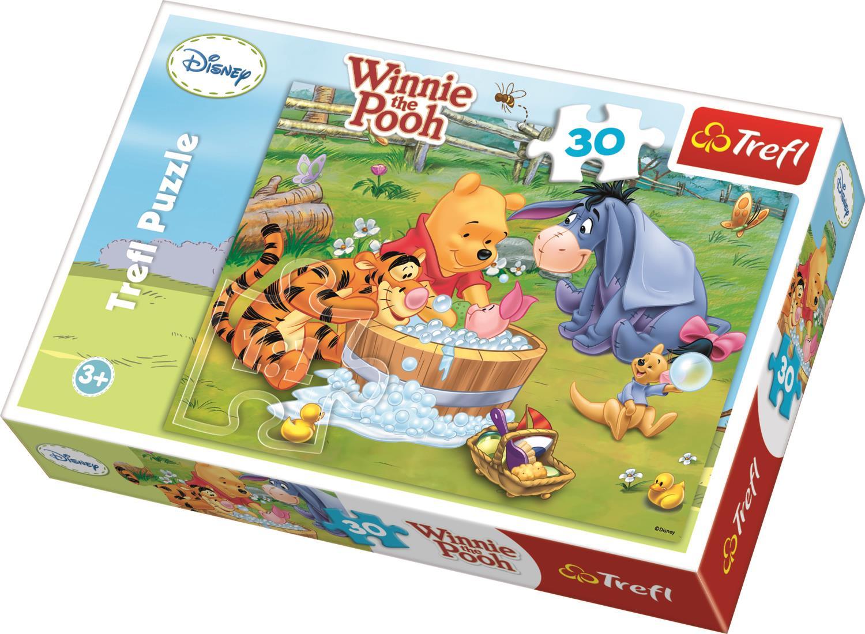 Trefl Çocuk Puzzle 18198 Winnie The Pooh Piglet, Disney 30 Parça Puzzle
