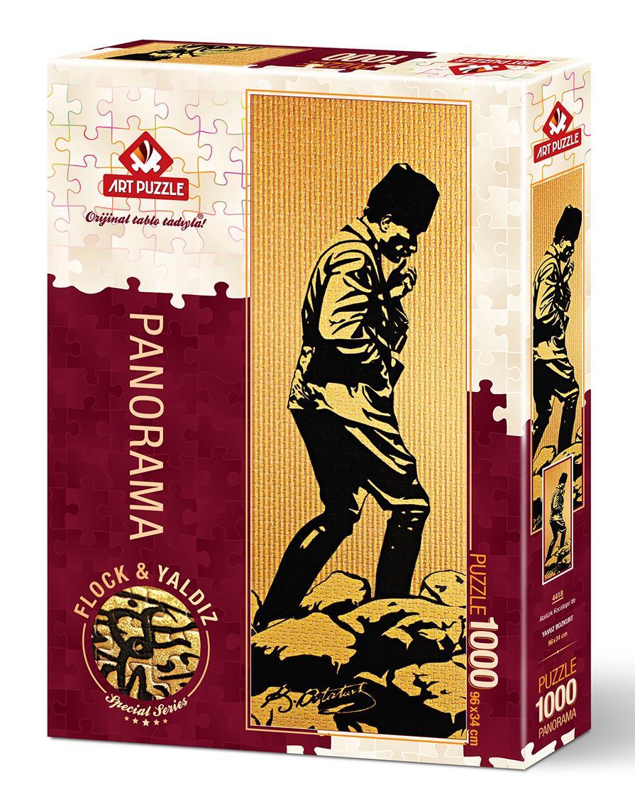 4418 Art Puzzle Ataturk Kocatepe De 1000 Parca Panorama Puzzle