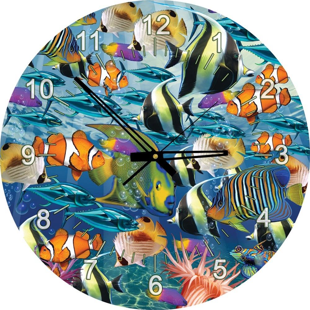 Art Puzzle 4292 Çok Balık 570 Parça Saat Puzzle