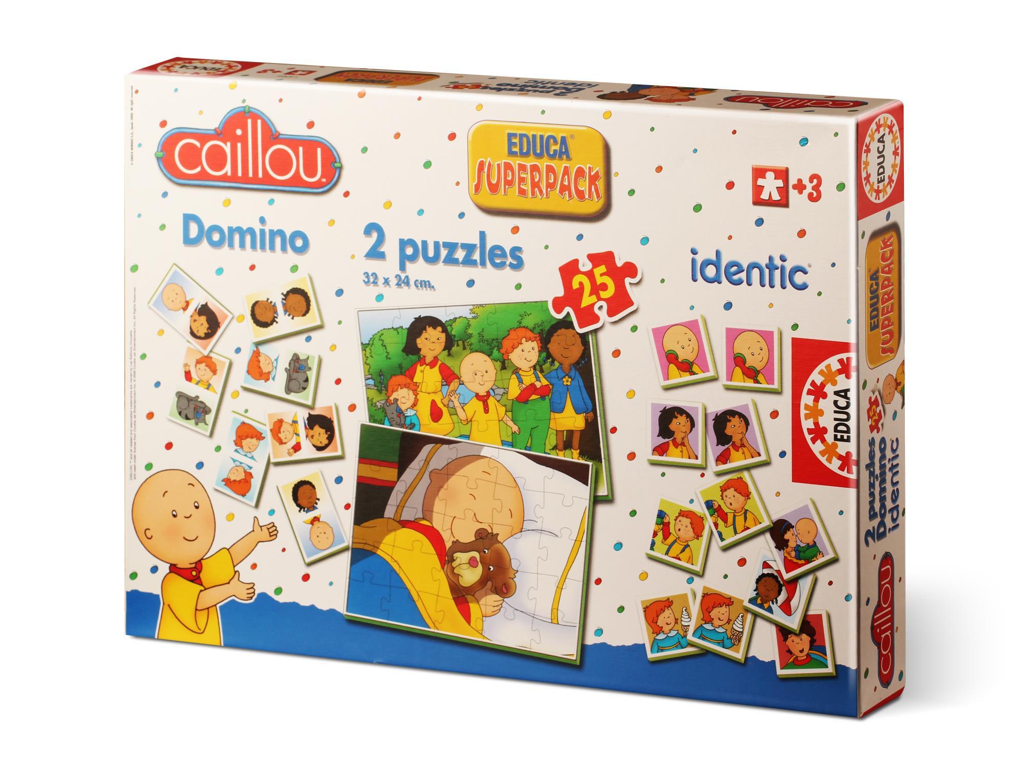 14094 Educa Puzzle Caillou Domino Hafiza Oyunu Puzzle