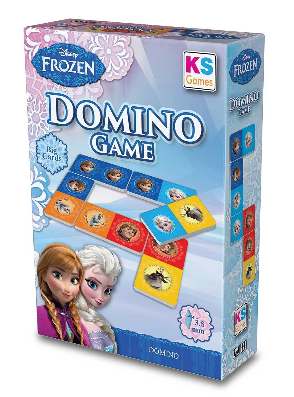 FRZ805 Ks Puzzle Frozen, Disney Domino Game