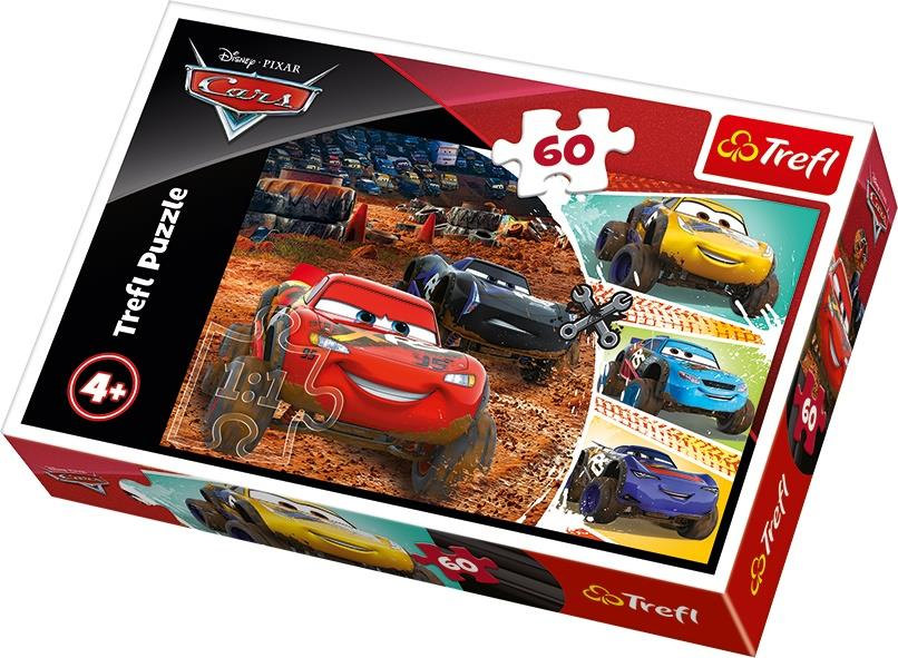 17327 Trefl Puzzle Lightning Mcqueen With Friends Disney 60